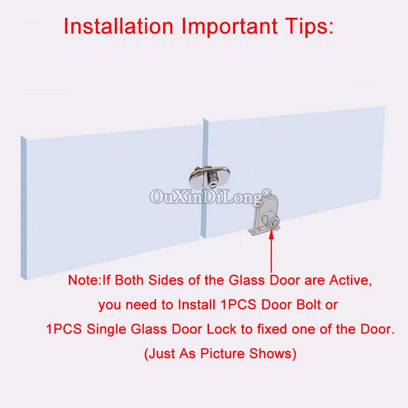 高品質 10 セットダブルガラスドアロックガラスキャビネットジュエリーショーケースディスプレイロック電話カウンターロックガラスロック CP54