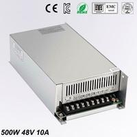 DC Alimentation 48 V 10A 500 w Led Pilote Transformateur 110 V 240 V AC à DC48V Puissance Adaptateur pour la bande de lampe CNC CCTV