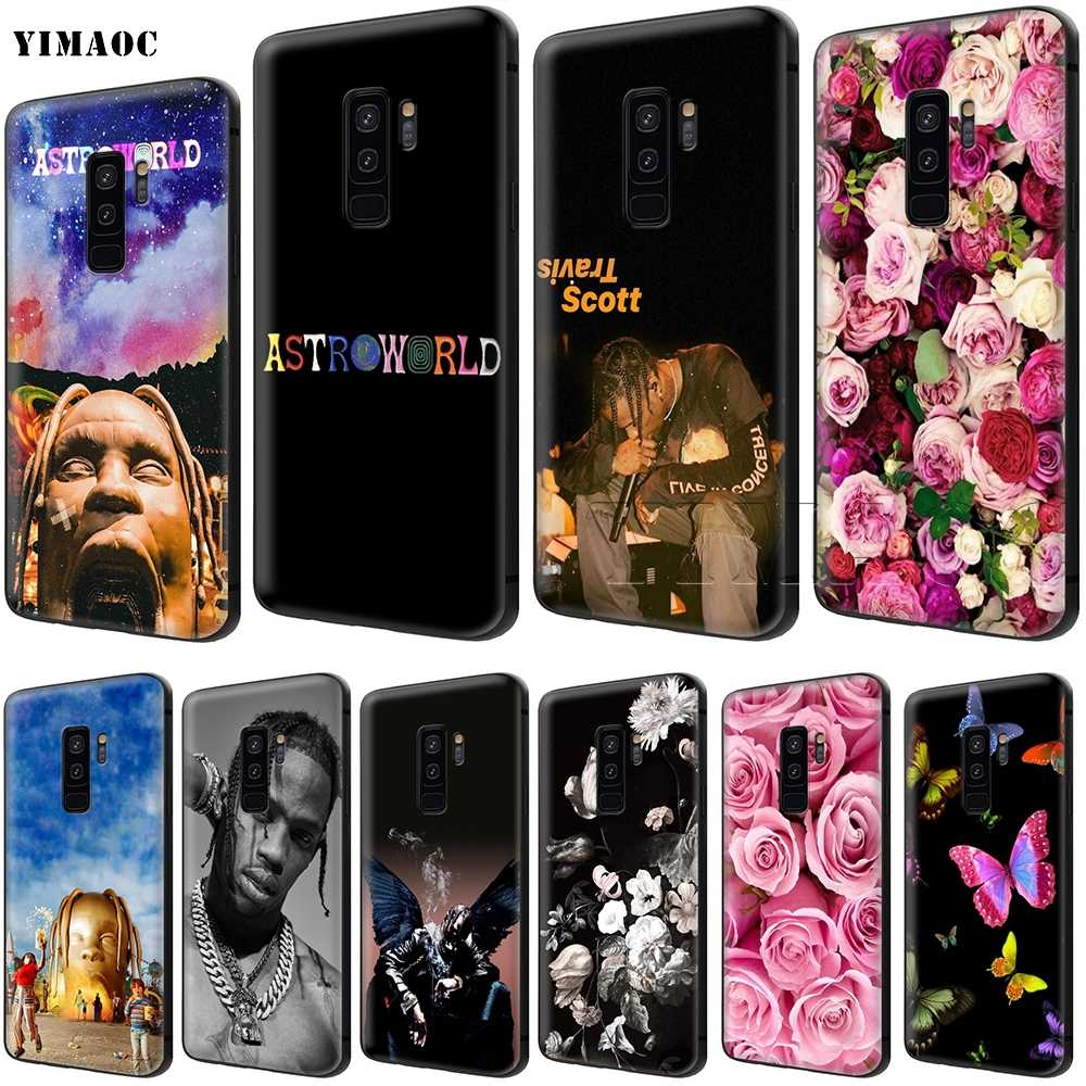 YIMAOC Astroworld Travis Scott Soft Silicone Case for Samsung Galaxy S6 S7  Edge S8 S9 Plus A3 A5 A6 Note 8 9
