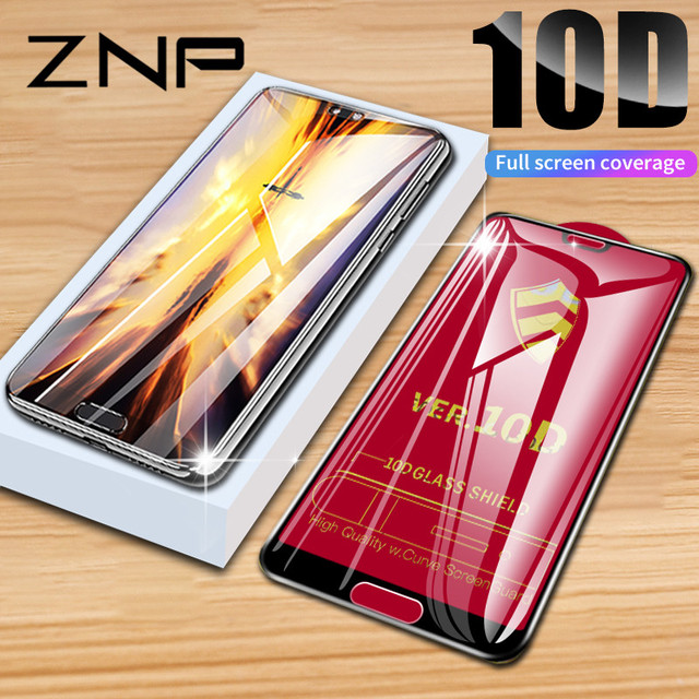 ZNP 10D Glass For Huawei P20 Pro Lite Honor 9 10 Screen Protector Tempered Glass For Huawei P10 Lite Honor Play Protector Film