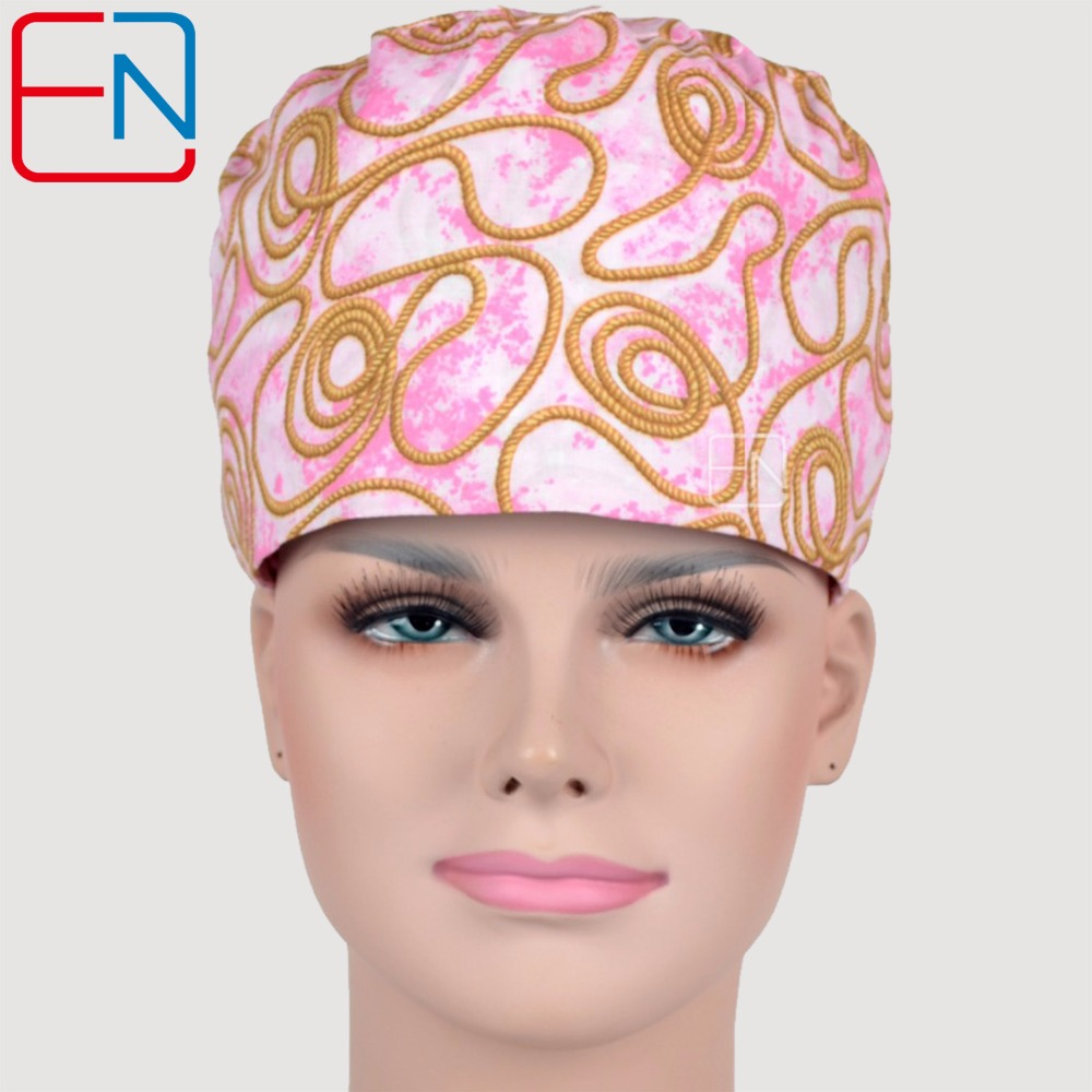 NEW Matin Surgical Caps For Long Hair Doctor Caps And Nurses Caps 100% Cotton