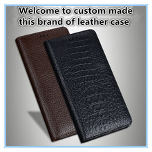 TZ15 Magnet genuine leather flip cover for Xiaomi Mi MAX 3(7.0) phone case 3 free shipping