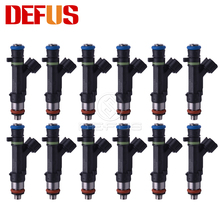 DEFUS Set 12X 1465A080 Fuel Injector High Impedance 146 5A0 80 Nozzle for Mitsubishi Outlander 3.0L V6 07-13 Injection Value NEW