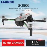 LAUMOX SG906 Дрон GPS 5G wifi FPV с 4 K HD камерой бесщеточный селфи складной дроны, Радиоуправляемый квадракоптер RTF VS XS812 XS809HW F11