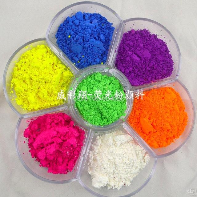 En polvo fino color azul, verde, rojo, rosa, amarillo, naranja y púrpura Neon pigmento Esmaltes de uñas hacer soapmaking Velas no cosméticos en ...