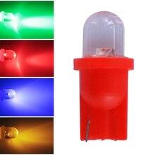 100 pcs T10 W5W 6 v 6.3 v 194 555 Luzes Led Sem Fantasmas para Bally Pinball Máquina de Jogo de Pinball branco vermelho azul amarelo DC6V