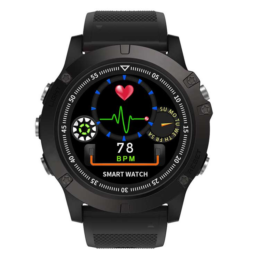 STRYVE Fashion Smart Watch Man Outdoor Sport Digital Wristwatch Multifunction Bluetooth Health Monitor Casual Males Watches