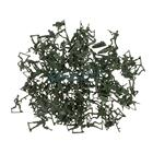 120pcs Plastic Army Playset 4cm WWII Soldier Army Men Action Figures Collectibles Gift - Army Green