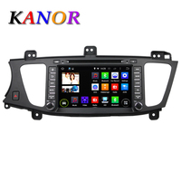 Kanor 8inch Android 4 44 Quad Core Car DVD For KIA K7 2009 2010 2011 2012