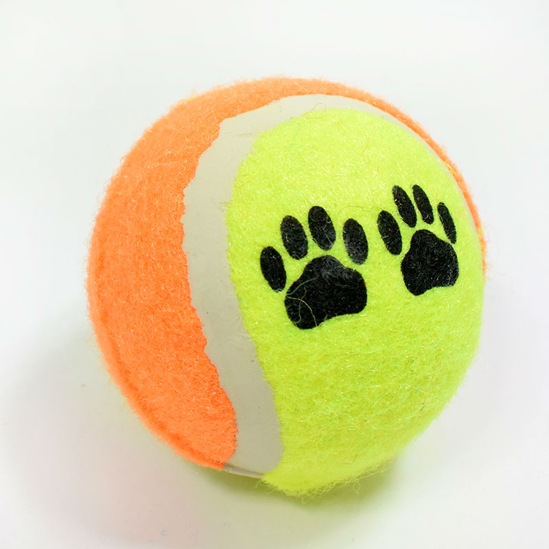 New Hot Sale Pet Claw printing Tennis Toys Training cats dogs toy Pet Supplies Pet Toys Free shipping