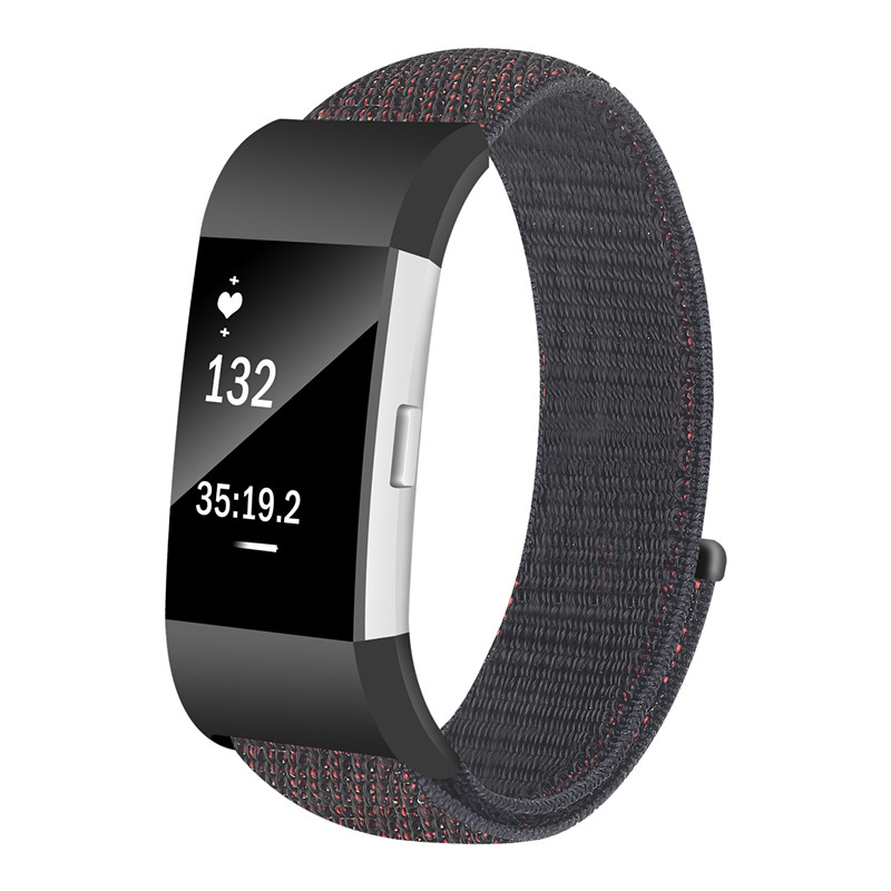 ASHEI Watchbands For Fitbit Charge 2 Band Nylon Loop Sport Watch Strap Charge 2 Wristband Bracelet Woven Accessories Fabric Belt survival nylon bracelet brown