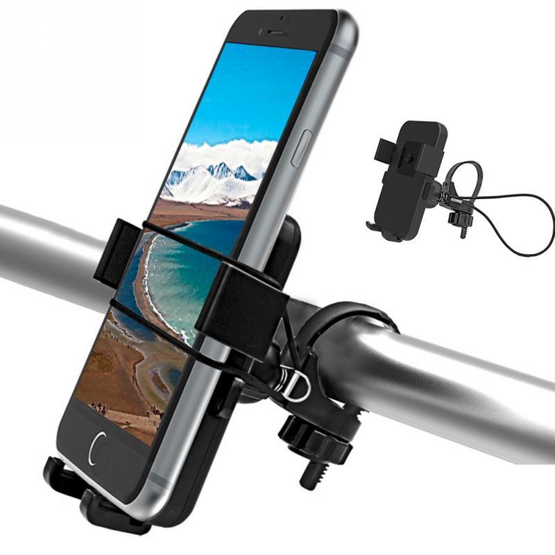 2017 Antideslizante Soporte para Teléfono Universal de Rotación de Bicicletas Bi