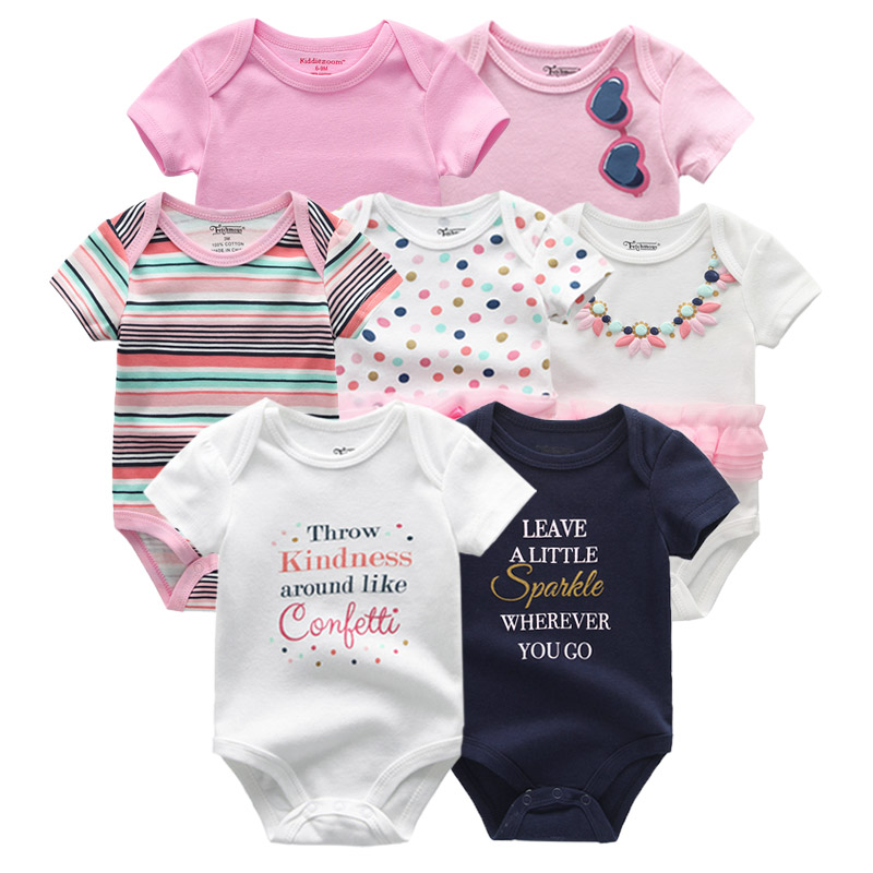 Cute newborn baby girls romper watermelon clothes jumpsuit PK