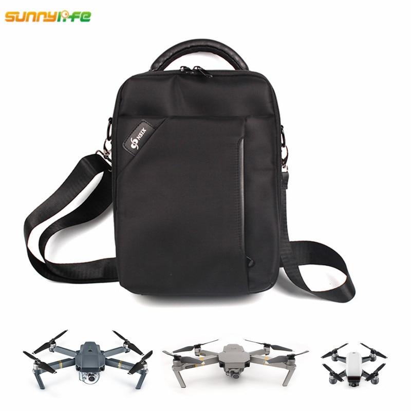 Storage Box Shoulder Bag for DJI Spark DJI MAVIC PRO Platinum Alpine with EPP Inner for White Drone Remote Control Battery