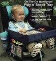 Sobre a ir à prova d' água Portátil Crianças Assento de Carro Do Bebê jogar n Lanche Bandeja De Viagem De Prancheta Mesa Organizador Do Assento de Carro cobrir