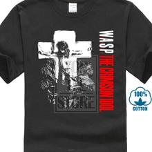 W A S P Crimson Idol 92 Wasp Heavy Metal Band Twisted Sister New Black T Shirt O-Neck  Cotton  Casual  Short accord a 301b w o psu black