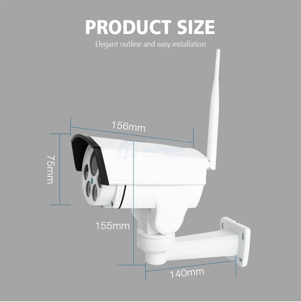 11 wifi ip camera outdoor