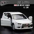 Modelo de simulación de alta, 1:36 Aleación tire hacia atrás de coches de juguete, Mitsubishi EVO ala Dios, envío libre