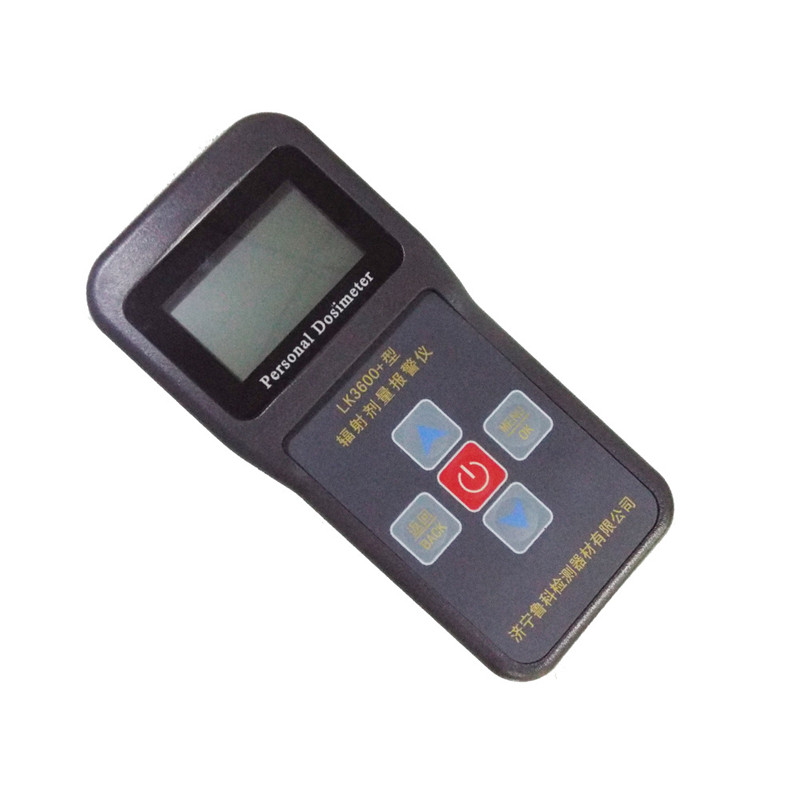 Personal nuclear radiation detector dosimeter alarm LK3600+