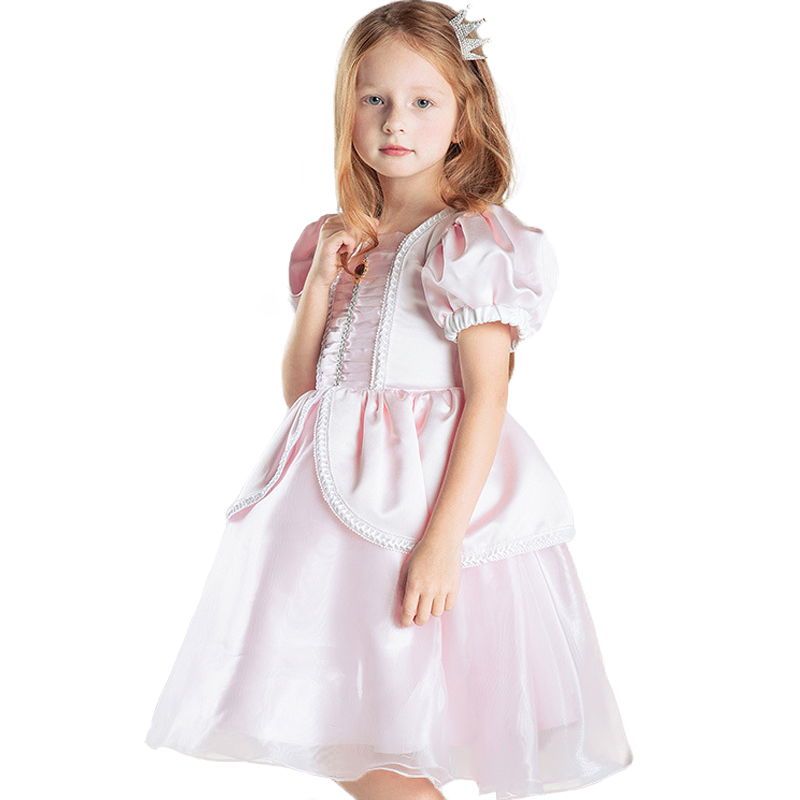 цена на Top quality Girl Baby Formal Dress Children Sleeping Beauty Princess Dress Kids Aurora Kids Party Costume Clothing Evening Dress