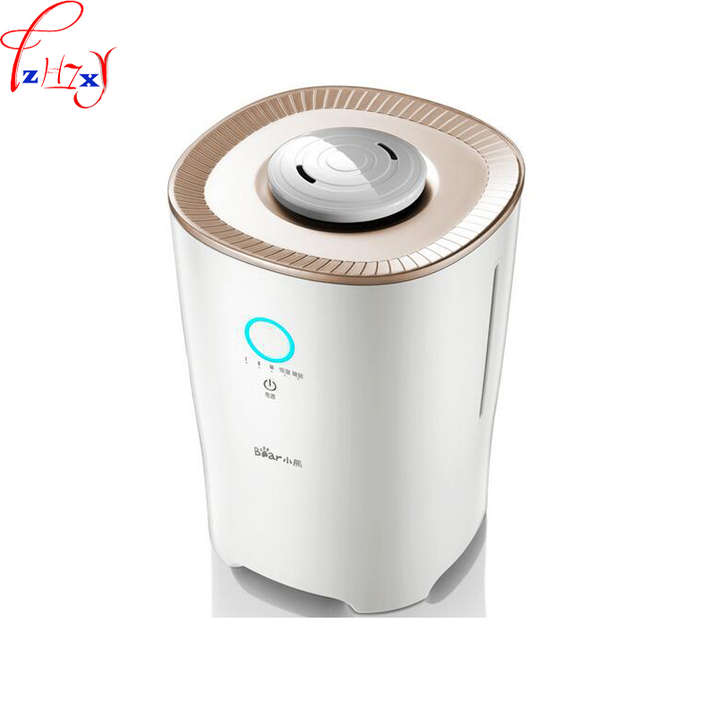 Home air humidifier floor humidifier 4L large capacity intelligent constant wet aromatherapy humidifier 1pc|Humidifiers| |  - title=