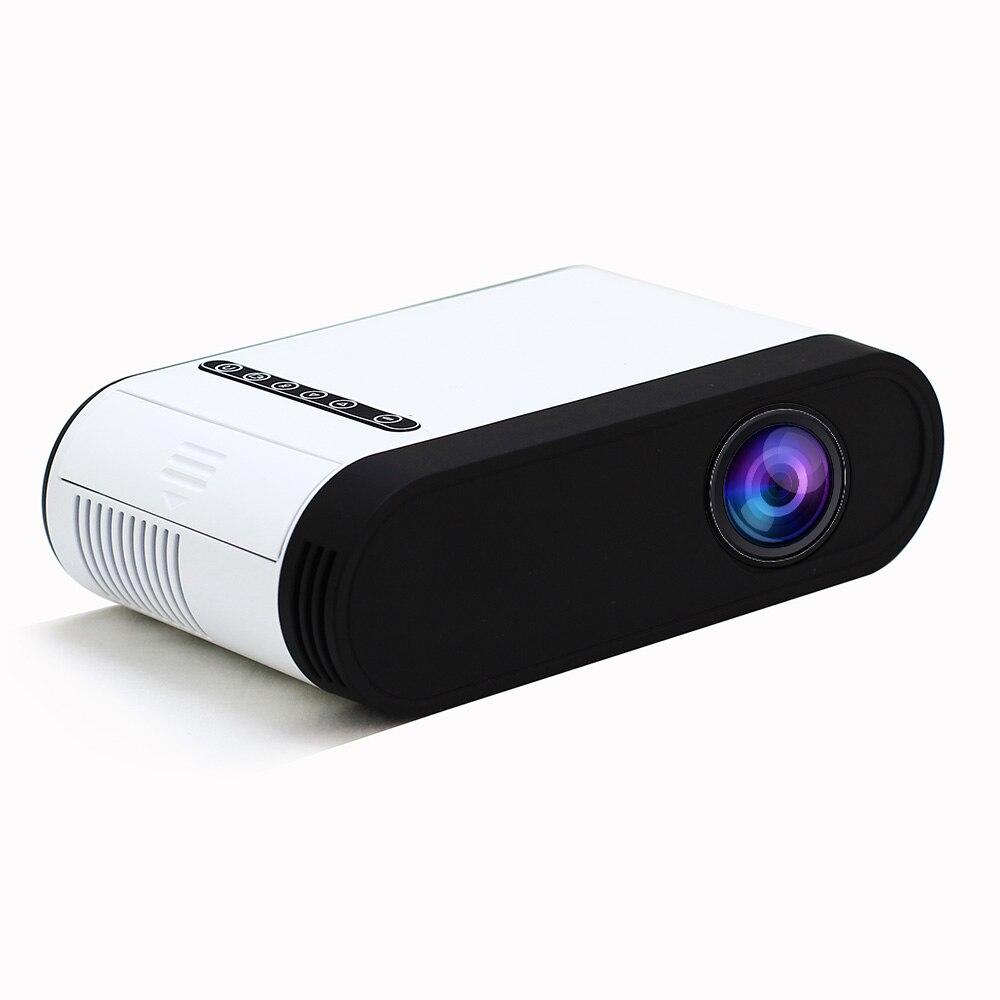 GC20 projecteur LED 500 lumen 3.5mm Audio 320x240 Pixels GC20 HDMI USB Mini projecteur maison lecteur multimédia Portable