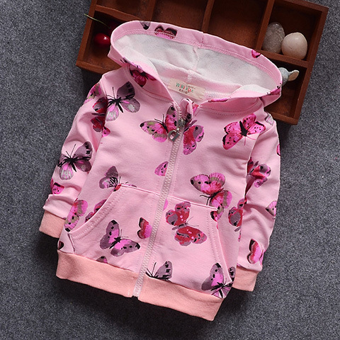 Butterfly Jacket New Arrival Clothing For Baby Girls Coat Cartoon ...