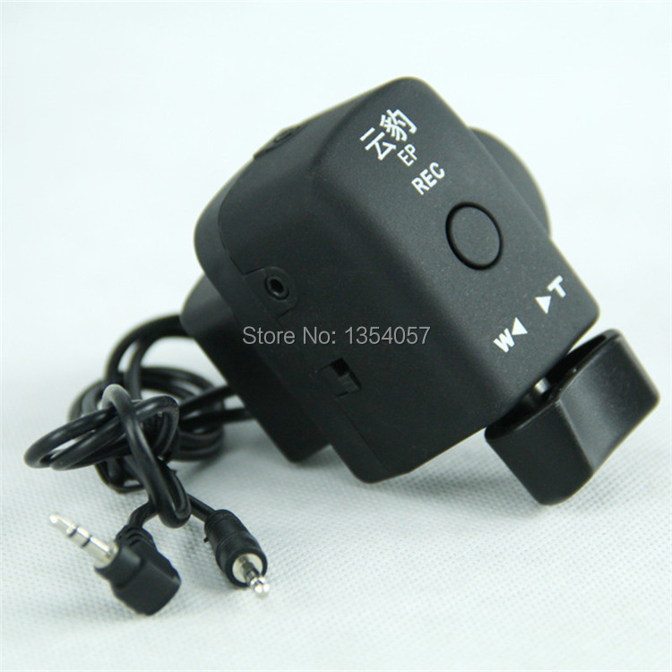 New Camcorder Zoom Remote Control DV Controller with 2.5mm Spring Cable for Sony Canon Panasonic with LANC Interface