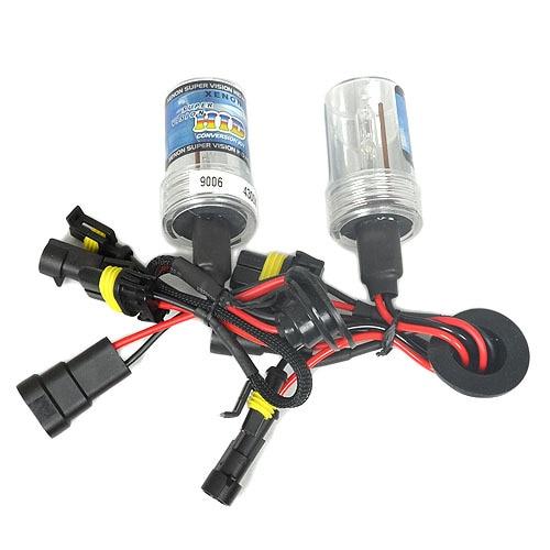 2 x HID XENON Conversion REPLACEMENT Bulbs 9006 4300K Wholesale & Retail [CPA35]