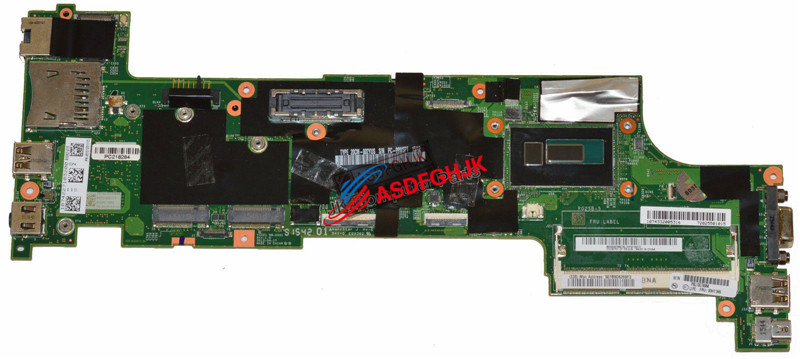 Lenovo Thinkpad X250 Genuine Laptop i5-5300U 2.3GHz Motherboard 00HT381