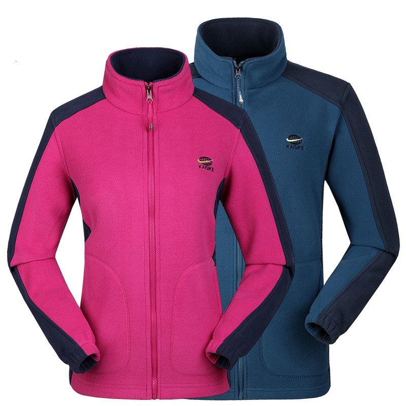 Autumn winter Men women High Quality Thicked Polar Fleece Jackets Coats Couples