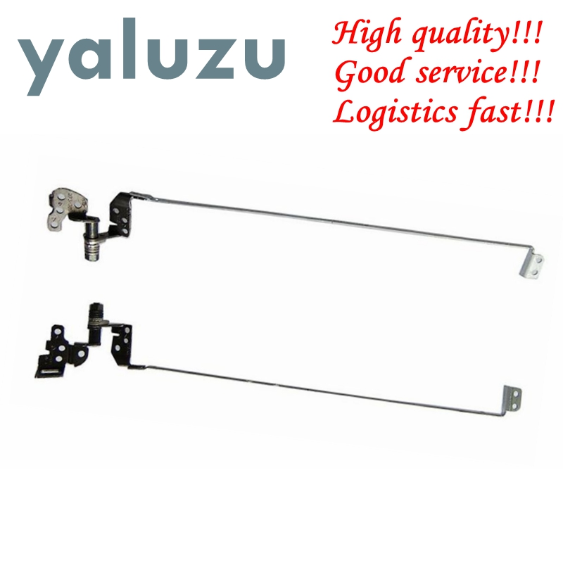 YALUZU NEW LCD Laptop Screen Hinge For HP Pavilion G6 G6-1000 G6-1100 G6-1200 G6-1300 Set 1 Pair 637191-001 639511-001 Bracket