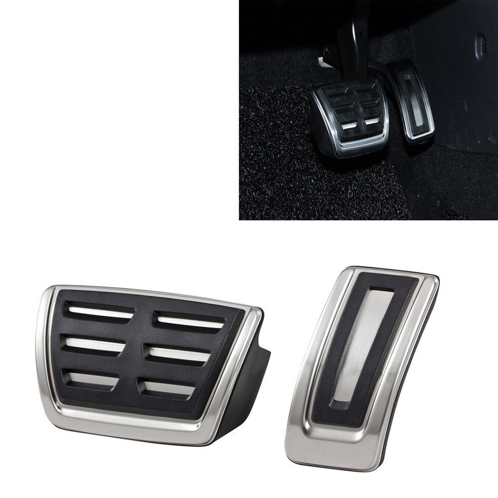 Car Pedals Fit For VW Golf 7 GTi Audi A3 8V S3 RS3 Sportback Cabrio Skoda Octavia 5E A7 Rapid Seat Leon 5F RHD LHD Accessories
