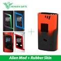 Alienígena originais 220 w smok mod vw/função caixa mod eletrônico tc alien vs smok cigarro mod 510 vape 200 w w/capa de silicone cobrir