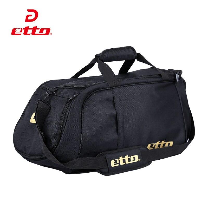 ФОТО Etto 2017 New Men Sport Bag Waterproof Nylon Large Gym Bag Outdoor Fitness Bag Women Upgraded Version Multifunctional Bag HAB001