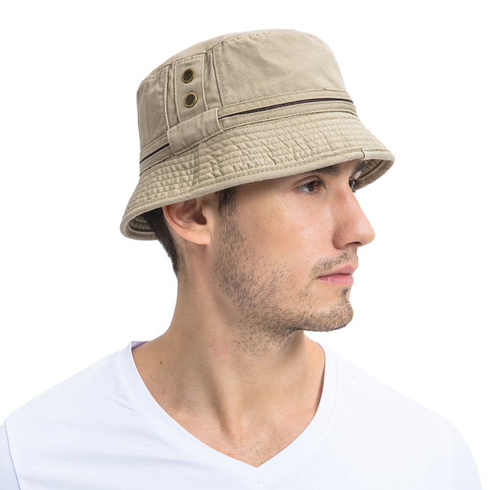 HTB1XayjKrvpK1RjSZFqq6AXUVXac - VOBOOM Bucket Hats for Men Women Washed Cotton Panama Hat Summer Fishing Hunting Cap Sun Protection Caps Panama Hat 139