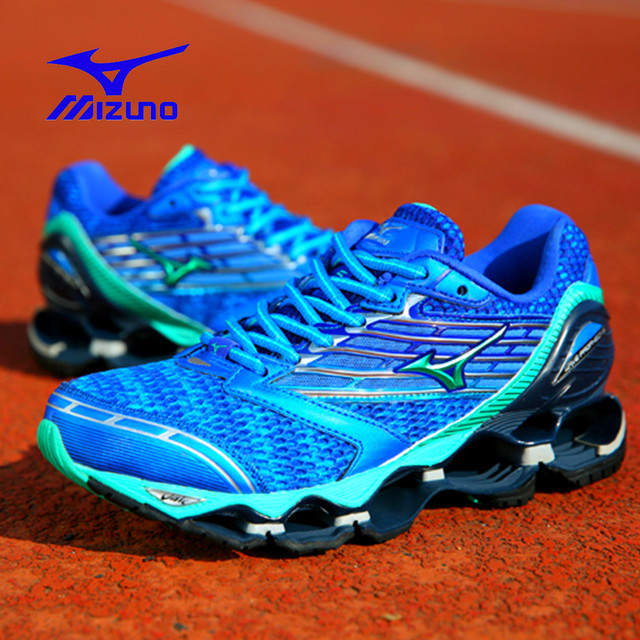 purchase cheap 19d0a e8b74 Blue 2018 Mizuno Wave Prophecy 5 Professional Women Shoes White Sports  Running Shoes 5 Colors Weightlifting Shoes Best Sale