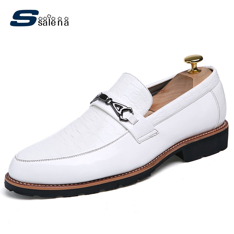 Male Casual Shoes Soft Footwear Classic Loafers Men Leather Shoes Fashion High Quality Business Shoes Male AA30142 male casual shoes soft footwear classic men working shoes flats good quality outdoor walking shoes aa20135