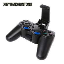 XINYUANSHUNTONG Game Accessory 2.4G Wireless Controller Gamepad + Micro USB OTG Converter Holder For Android Phone TV