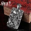 Beier collar colgante de acero inoxidable 316l nuevo estilo chino estilo 6 estilos por suerte colgante de joyería bp8-160