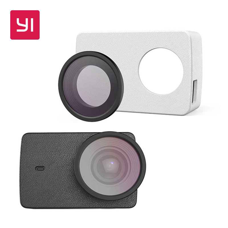 Galleria fotografica YI Protective Lens and Leather case for YI 4K Action Camera