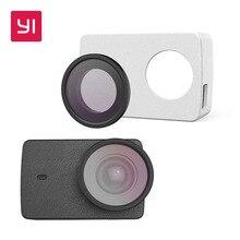 Yi защитные линзы and Кожа Case для Yi 4 К действие Камера
