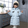 Down Jacket for Girl 2016 New Winter Coat Girl Princess Down Jackets Kids for Teenage Girls Outerwear 7-15 Years