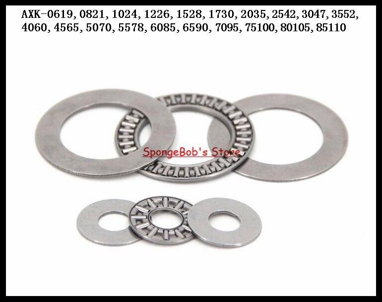 2pcs/Lot Thrust Needle Roller Bearing AXK5070 50mm x 70mm x 3mm Thrust Bearing na4910 heavy duty needle roller bearing entity needle bearing with inner ring 4524910 size 50 72 22