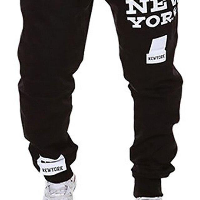 M-SXL Men's Jogger Dance Sportwear Baggy Casual Pants Trousers Sweatpants Dulcet Cool Black/White/Deep gray/Light gray 5