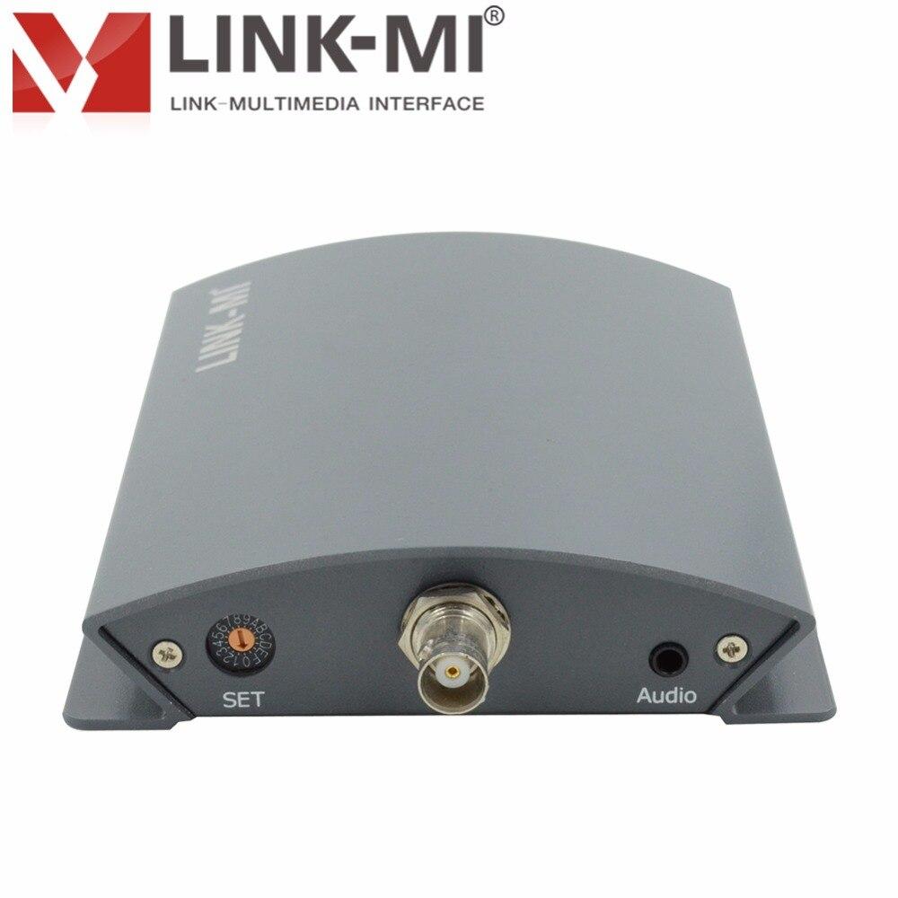 Kutia e konvertuesit profesional LINK-MI LM-PCS01 CVBS / AV në 3G / - Audio dhe video në shtëpi - Foto 4
