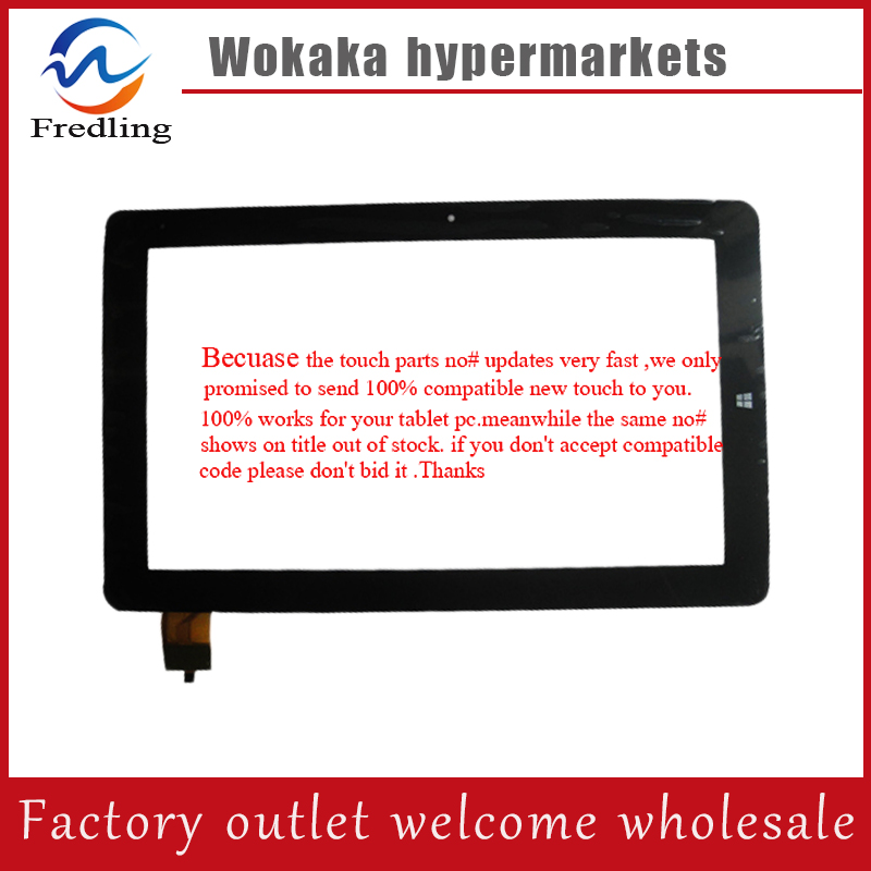 Free shipping 10.6'' touch screen 100% New for Chuwi VI10 dual boot(32GB) 275mm*168mm Tablet touch panel digitizer Glass Sensor free shipping 10 1 touch screen 100