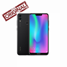 Global Rom Honor 8C Cell phone Octa Core  6.26''Full Screen HD+1520x720 Qual-comm Snapdragon 632 Android 8.1 4000mAh 3 Slot