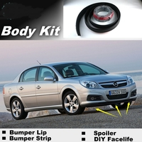 NOVOVISU Bumper Lips For Chevrolet Vectra B C 1995~2016 / Spoiler For Car Tuning / Recommend Body Kit + Strip