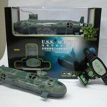 Пульт дистанционного управления подводная лодка большой U.S Seawolf rc субмарина игрушки для детей